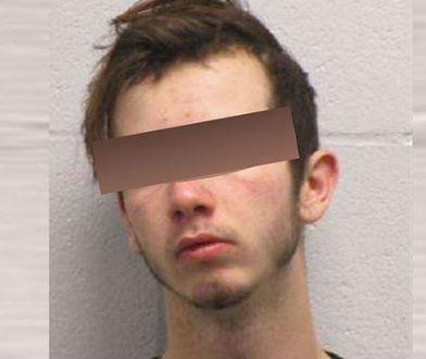 Andrew Spensberger oskarżony o posiadanie dziecięcej pornografii.