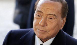 Koronawirus. Włochy. Silvio Berlusconi z pozytywnym wynikiem testu
