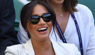 Meghan Markle na Wimbledonie. Drobny szczegół ciągle przypominał jej o synu