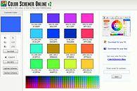 Narzędzia przydatne webmasterom - http://www.colorschemer.com/online.html