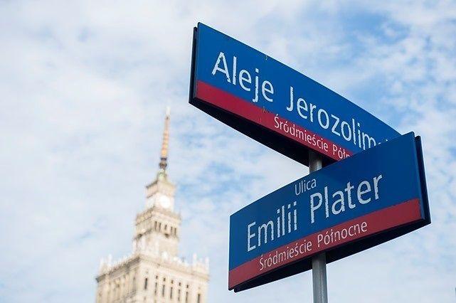 Będą przejścia dla pieszych u zbiegu Alei Jerozolimskich i Emilii Plater