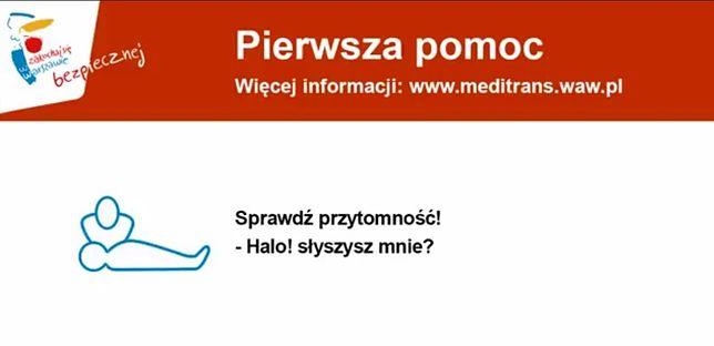 Przyspieszony kurs pierwszej pomocy w warszawskiej komunikacji