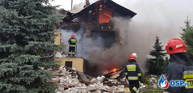 Wybuch gazu pod Warszawą