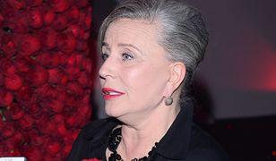 Krystyna Janda nie jest zwolenniczką PiS.