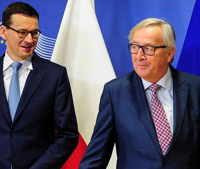 Mateusz Morawiecki rozmawiał z Junckerem o praworządności