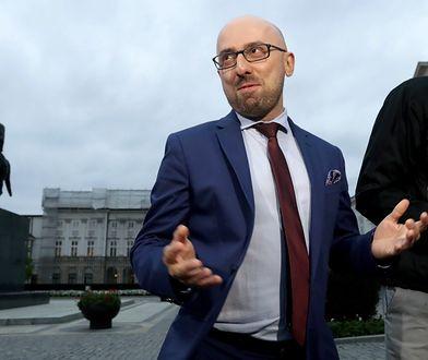 Rzecznik prezydenta Krzysztof Łapiński unikał odpowiedzi, czy prezydent spotkał się z prezesem PiS