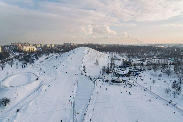 Sosnowiec zaprasza na narty na Górkę Środulską.