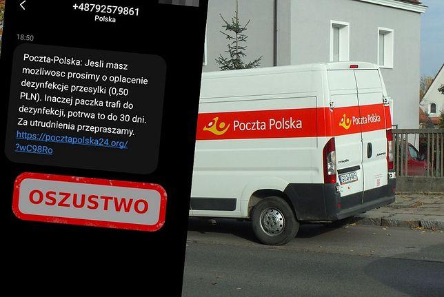 Poczta Polska ostrzega przed oszustami. Piszą o dezynfekcji paczki