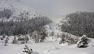 Groźny incydent w Tatrach