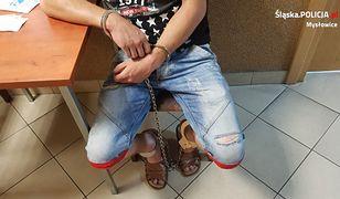 Podejrzany to 22-letni mieszkaniec Mysłowic
