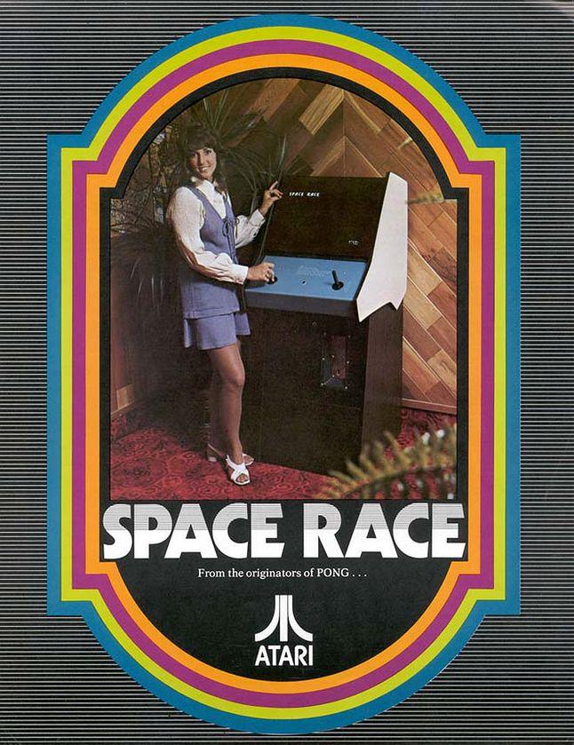 Folder reklamowy Space Race.