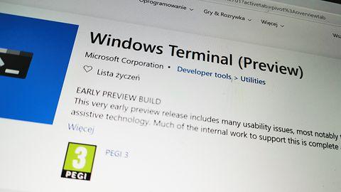 Windows Terminal. Wiersz Polecenia, PowerShell i WSL w jednej przejrzystej aplikacji