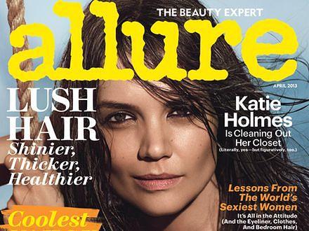 """Katie Holmes: """"Nie walczmy ze starzeniem się"""""""