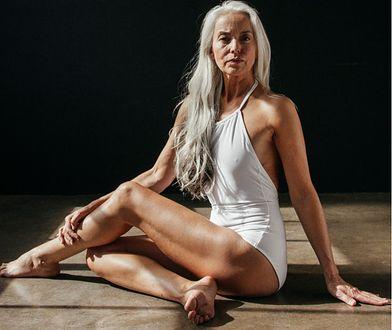 61-letnia modelka i artystka podbija sieć
