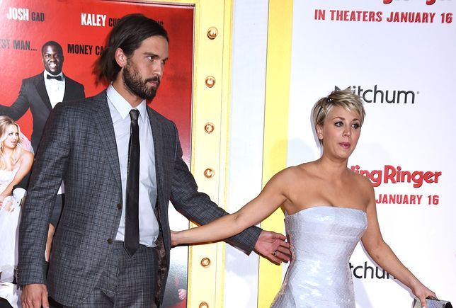 """January 6, 2015  Hollywood, Ca.Kaley Cuoco and Ryan Sweeting""""The Wedding Ringer"""" World Premiere held at TCL Chinese Theatre�� Tammie Arroyo/AFF-USA.com"""