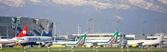 Płyta lotniska w Turynie (TRN)