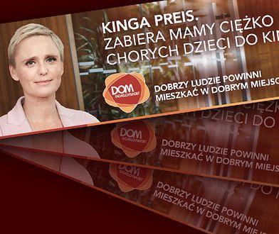 "Kinga Preis reklamuje ""dobre mieszkania"" dla ""dobrych ludzi"""
