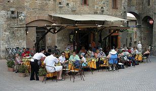 Restauracja w Toskanii