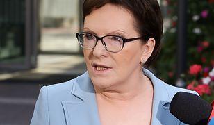 Ewa Kopacz krytycznie o najnowszym pomyśle rzecznika praw dziecka