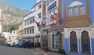 Najpiękniejsza jest stara część miasta, medyna - to ona jest konsekwentnie błękitna