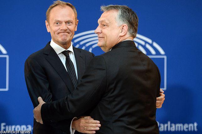 Viktor Orban i Donald Tusk to starzy znajomi