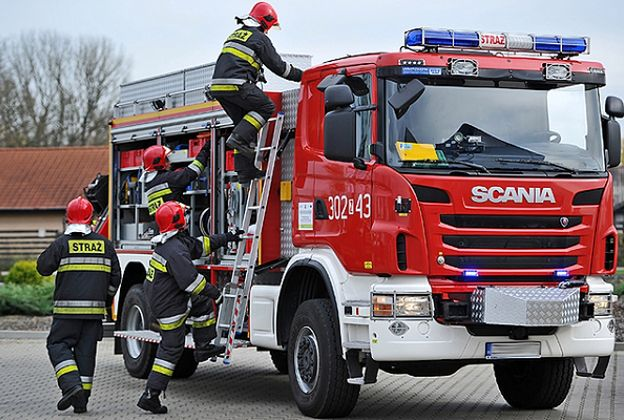 Nawałnice na Podlasiu. Kilkadziesiąt interwencji straży pożarnej