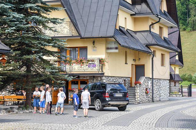 Pensjonat w Zakopanem, w którym doszło do śmierci dziecka