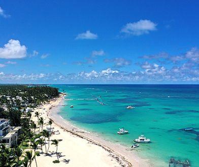 Plaże na Dominikanie są przepiękne, ale czasem pojawiają się na nich różne zanieczyszczenia
