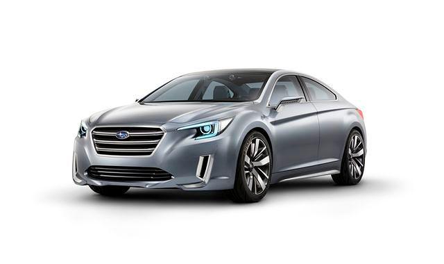 Amerykański debiut Subaru Legacy Concept