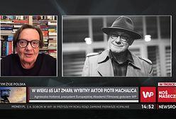 """Agnieszka Holland o Piotrze Machalicy. """"Grał z niebywałym taktem i mądrością"""""""