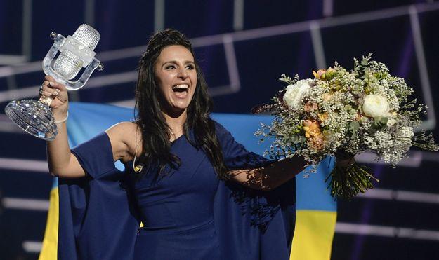 Ukraińska piosenkarka Jamala po zwycięstwie w 61. konkursie Eurowizji