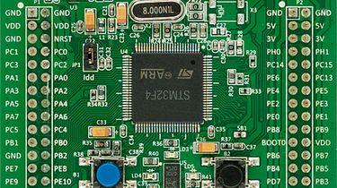 ARM: STM32F4 Discovery pierwsze wrażenia - Wygląd płytki z st.com