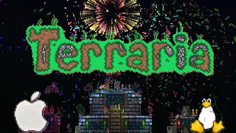 Fenomenalna gra Terraria wreszcie w wersji na Linuksa oraz Maka