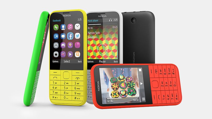 Nokia prezentuje model 225 — dla odmiany telefon prosty i tani