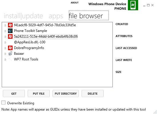 Windows Phone Power Tools