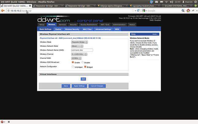Firmware DD-WRT