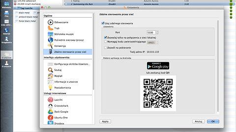 Clementine 1.2 zagra z Dropboksa i da się sterować smartfonem