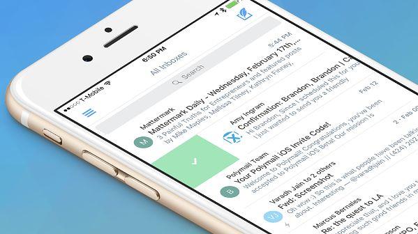 Polymail dostępny. Nowy klient poczty na Jabłka kipi od przydatnych dodatków