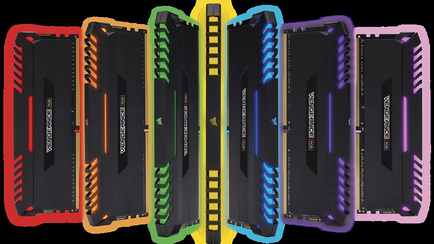 Corsair wprowadza na rynek nowe pamięci DDR4 – Vengeance RGB
