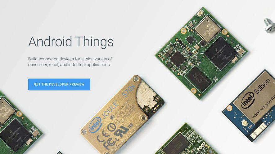 Android Things – Google prezentuje nowy system operacyjny