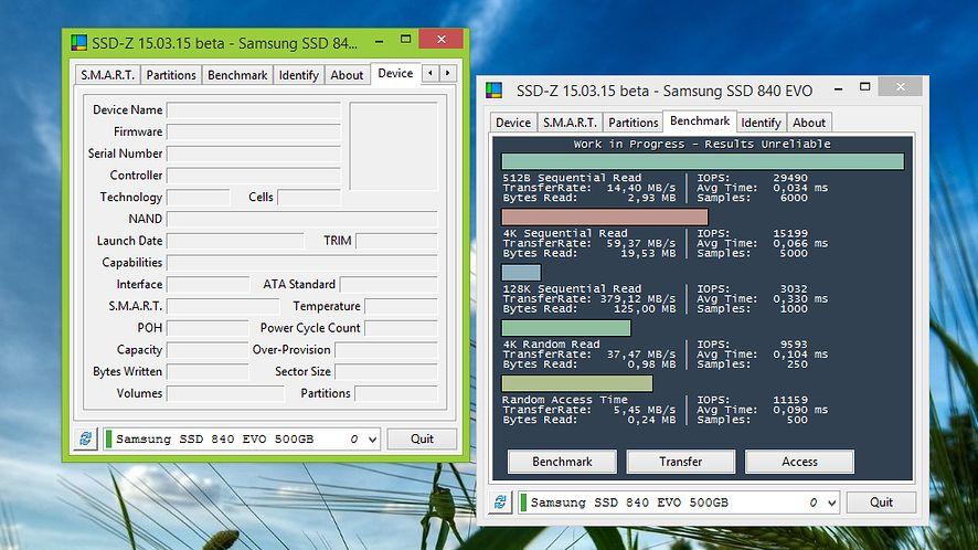 Dzięki SSD-Z dowiesz się wszystkiego o dyskach w Twoim komputerze