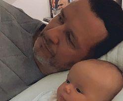 """Majdanowie pokazali urocze zdjęcie z synem. Fani komentują: """"Hot-dog na słodko"""""""