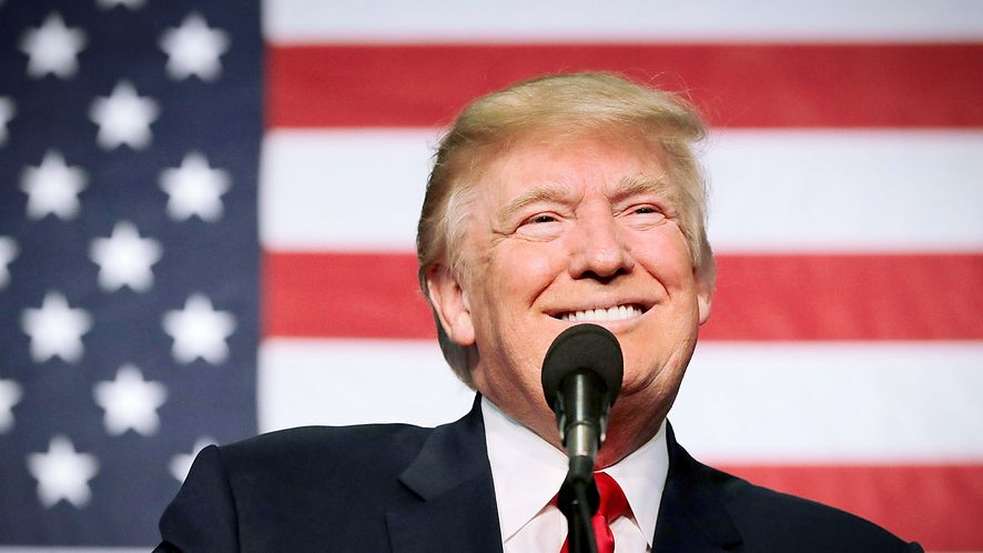 Donald Trump, fot. Chip Somodevilla/Getty Images