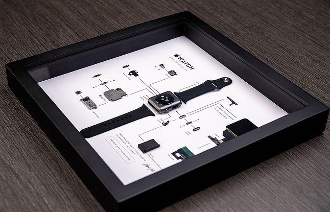 Apple Watch w ramce