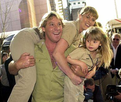 Mała Bindi Irwin z rodzicami