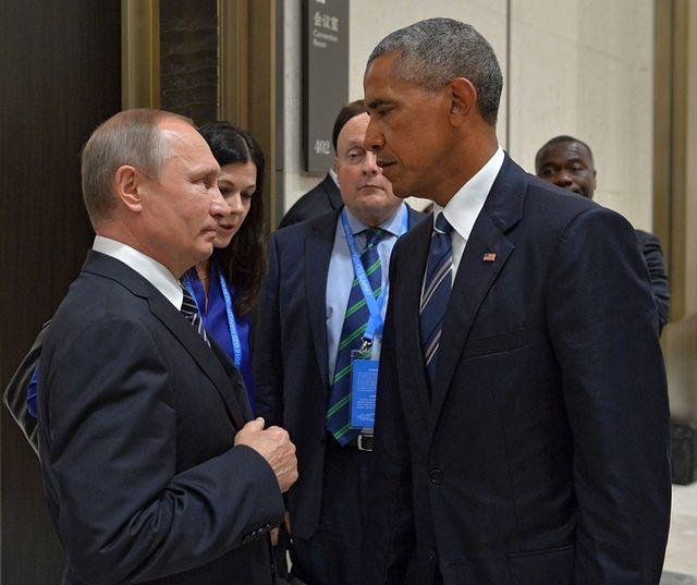 Obama spotkał się z Putinem za kulisami szczytu G20
