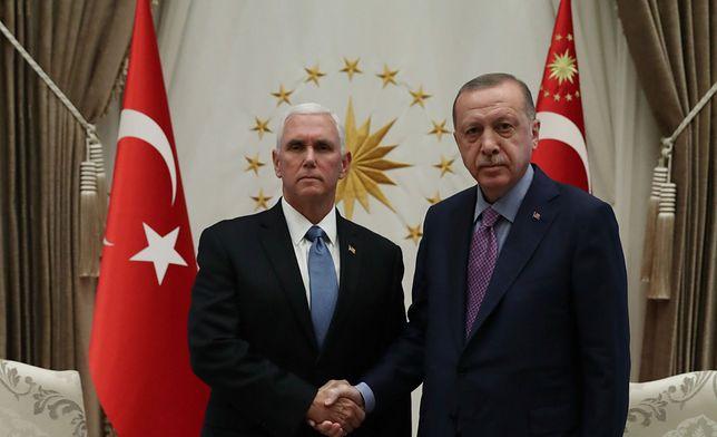 Recep Tayyip Erdoğan wyrzucił list Donalda Trumpa do kosza