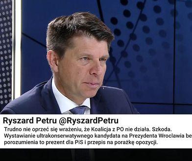 Petru: koalicja Trzeszczy. To doprowadzi do przegranej