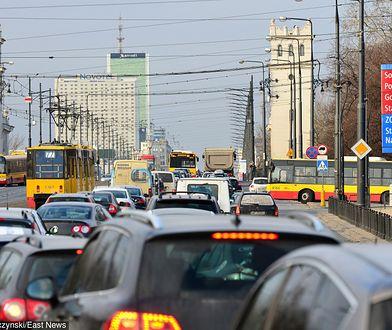 Konferencja bliskowschodnia w Warszawie: bardzo duże utrudnienia w ruchu
