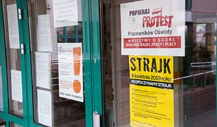 Strajk nauczycieli 2019. Według sondażu Kantar 36 proc. ankietowanych obarcza obie strony za brak porozumienia